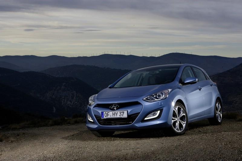 Hyundai i30 Modell 2012 in der Frontansicht