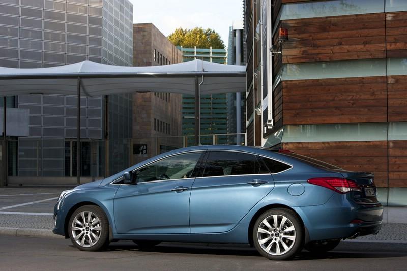 Der neue Hyundai i40 als Limousine