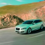 Die Frontpartie des Jaguar XF Sportbrake