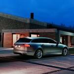 Die Heckpartie des Jaguar XF Sportbrake