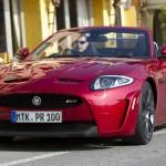 2012-er Jaguar XKR-S Cabriolet in der Frontansicht