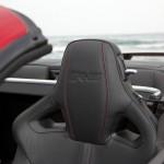 Die Ledersitze des Jaguar XKR-S Cabriolet