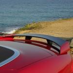 Der Heckspoiler des Jaguar XKR-S Cabriolet