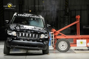 Jeep Compass im Euro-NCAP-Crashtest - Seitencrash
