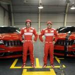 Jeep Grand Cherokee SRT8 2012 für Fernando Alonso und Felipe Massa