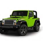 Jeep Wrangler Sondermodell Mountain in der Farbe Grün