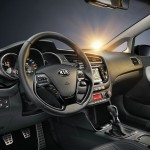 Das Cockpit des neuen Kia Ceed