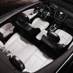 Der Innenraum des neuen Lancia Flavia Cabrio