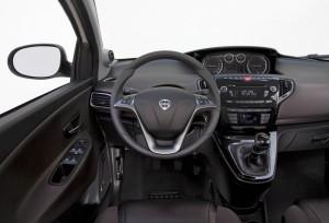 Das Cockpit des Lancia Ypsilon