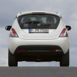 Das Heck des Kleinwagens Lancia Ypsilon
