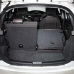 Der Kofferraum des Lancia Ypsilon
