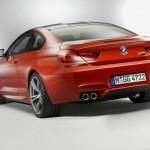 M6 Coupe vom Hersteller BMW in der Heckansicht