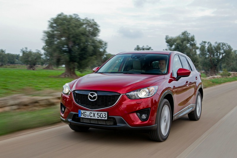 Der Mazda CX-5 ist ab April 2012 erhältlich
