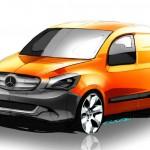 Der Mercedes-Benz Citan in der Frontansicht