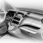 Dr Innenraum des neuen Mercedes-Benz Citan