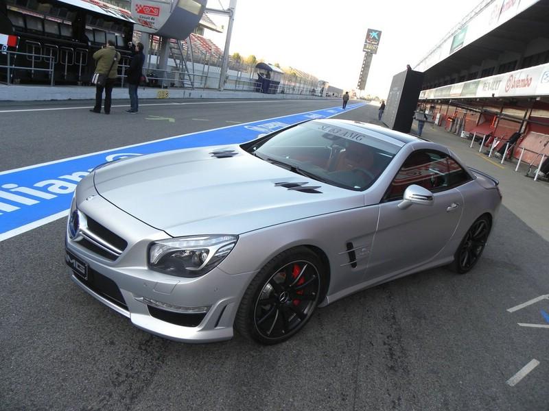 Mercedes-Benz präsentiert den neuen SL 63 AMG