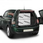 Das Platzangebot des Konzeptfahrzeugs Mini Clubvan Concept