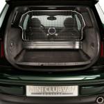 Die Ladefläche des Lieferwagens Mini Clubvan Concept