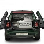 Mini Concept Car Clubvan in der Heckansicht
