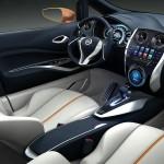 Der Innenraum des Invitation Concept - Nissan wird die Studie auf dem Genfer Autosalon präsentieren