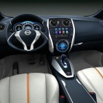Nissan Invitation - Im Interieur verbindet eine erfrischend helle Kabine Praktikabilität und Modernität
