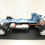 Die Elektrobatterien im Nissan Leaf