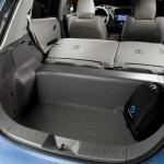Das Kofferraum des Nissan Leaf