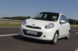 Nissan Micra 2012 in der Frontansicht