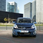 Nissan Note Frontansicht, Grill