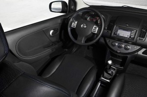 Das Cockpit des Nissan Note