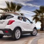 Der Opel Mokka von hinten - Heckansicht