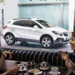 Der neue Opel Mokka in der Seitenansicht