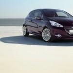 Das Konzeptfahrzeug Peugeot 208 XY Concept in der Frontansicht