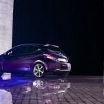 Peugeot 208 XY Concept in der Heckansicht