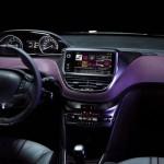 Der Innenraum des Peugeot 208 XY Concept