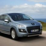 Peugeot 3008 HYbrid4 fährt elektrisch und auch mit Diesel
