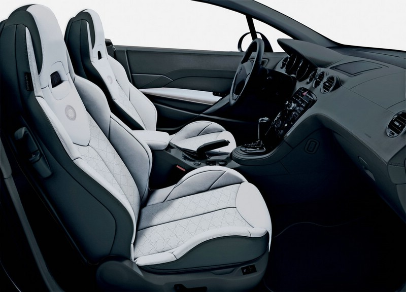 Galerie: Peugeot 308 CC Roland Garros Innenraum | Bilder und Fotos