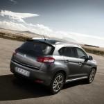 Das neue Kompakt-SUV Peugeot 4008 in der Seiten / Heckansicht
