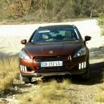 Das Front des neuen Peugeot 508 RXH