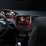 Der Innenraum des Peugeot GTi Concept