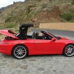 Porsche 911 Carrera Cabrio - Der Verdeck schließt sich