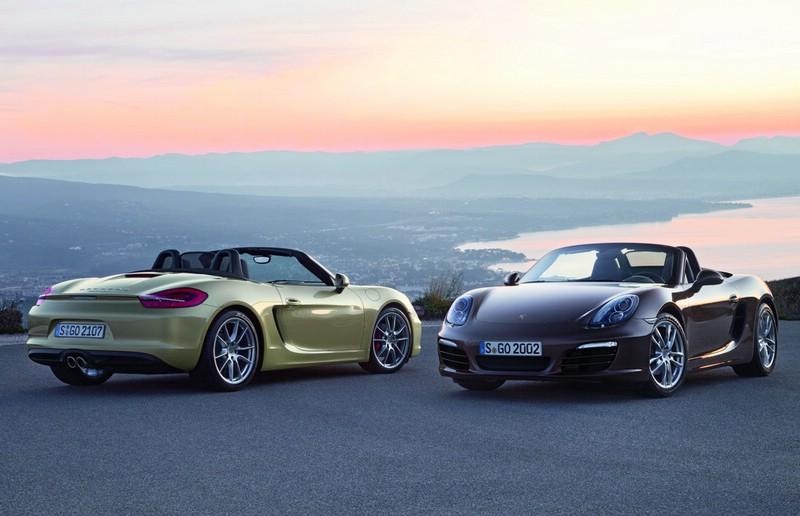 Die Sportwagen-Modelle Porsche Boxster und Boxster S