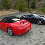 Das neue Porsche Carrera Cabrio in der offenen und geschlossenen Version