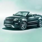 Die Land Rover Studie Range Rover Evoque Cabrio
