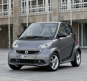 2012-er Smart Fortwo in der Frontansicht