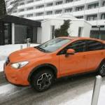 Subaru XV 1,6 in der Farbe Orange im Test