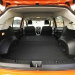 Der Gepäckraum des SUV Subaru XV