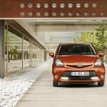 Die Frontansicht des neuen Toyota Aygo