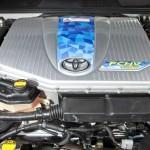 Der Wasserstoffmotor des Toyota FCHV-adv
