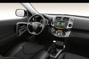 Innenraum des Sondermodells Toyota RAV4 Travel